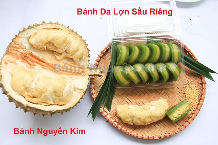 bánh da heo sầu riêng